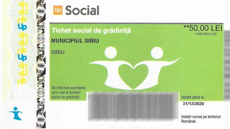 Primăria Sibiu: tichete sociale pentru grădiniță