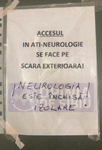 sectia de neurologie