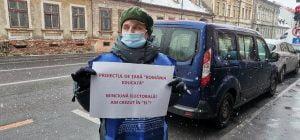 Cartel Alfa - protest cu 50 de persoane
