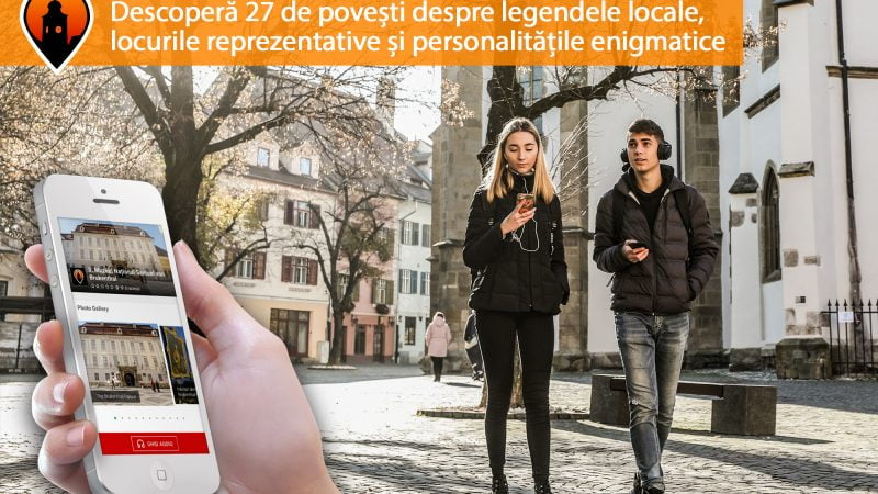 VIDEO - Ghid audio în 3 limbi pentru vizitarea orașului