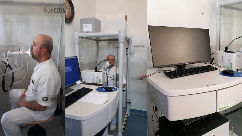 Investigații respiratorii complexe pentru pacienții post-Covid. 100 de lei fiecare