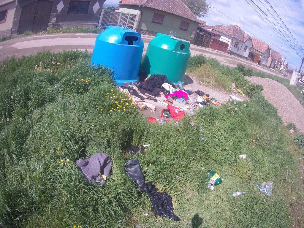 Poliția locală: Amendă de 800 lei pentru gunoaiele aruncate în locuri nepermise