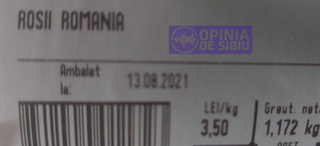 Roșii toxice în magazinele din Sibiu
